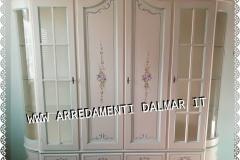 Argentiera personalizzata laccata e decorata