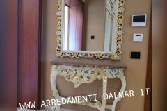 Consolle e specchiera stile Barocco