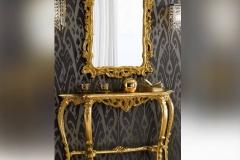 Consolle foglia oro stile Barocco