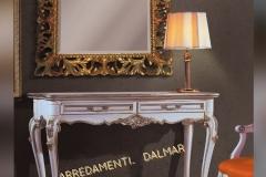 Consolle 2 cassetti ingresso Barocco con intagli