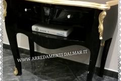 Tavolino nero - oro