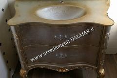 Bagno barocchetto veneziano intagliato