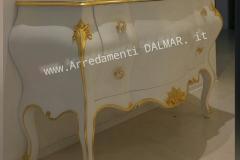 como-barocco-bianco-oro dalmar arredamenti