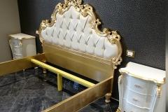 Camera matrimoniale personalizzata - letto e comodini