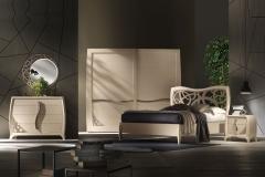 Camera da letto contemporanea collezione Luna