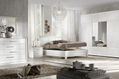 Camera da letto Asia bianco - Dalmar Arredamenti
