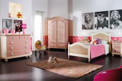 camera da letto rosa - Dalmar Arredamenti