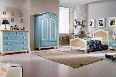 camera da letto azzurro cielo - Dalmar Arredamenti