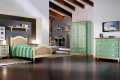 camera da letto verde - Dalmar Arredamenti