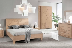 Camera da letto contemporanea decor